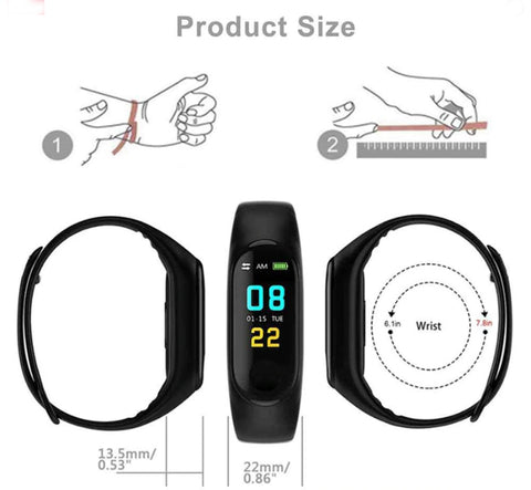smart wristband watch- gadgetcart