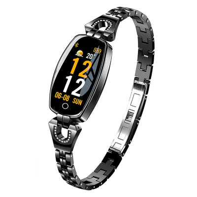 H8 Smart Watch Ladies Heart Rate Monitor & Fitness Tracker Bracelet