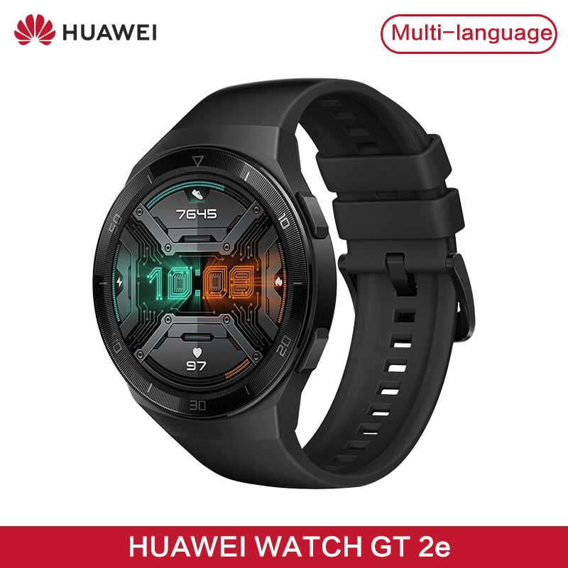 "HUAWEI WATCH GT2 SmartWatch 1.39"" AMOLED Waterproof Sports Watch 2 Weeks Battery Standby"