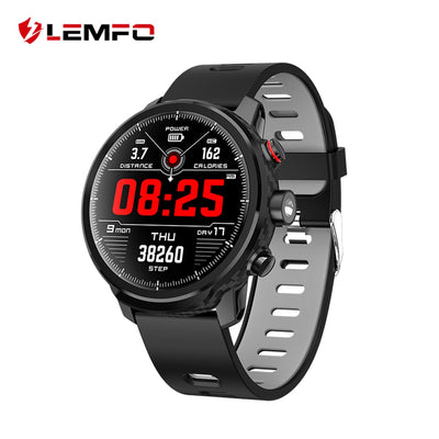 LEMFO Retro LED Style Display Smartwatch Heart Rate Monitor and Multi-function Fitness Device