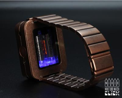 Nixie Tube Watch Feat. Vintage Russian Military Components
