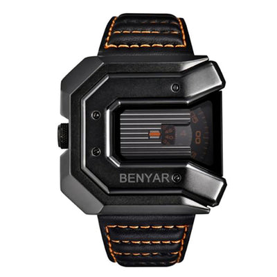 BENYAR Unique Rotating Disc Designer Men's Watch