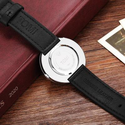 Turntable Unique Rotating Dial Men's Watch - GadgetCart