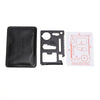 Multi-Tool Stainless Steel 10 in 1 Credit Card Gadget for Wallet - GadgetCart