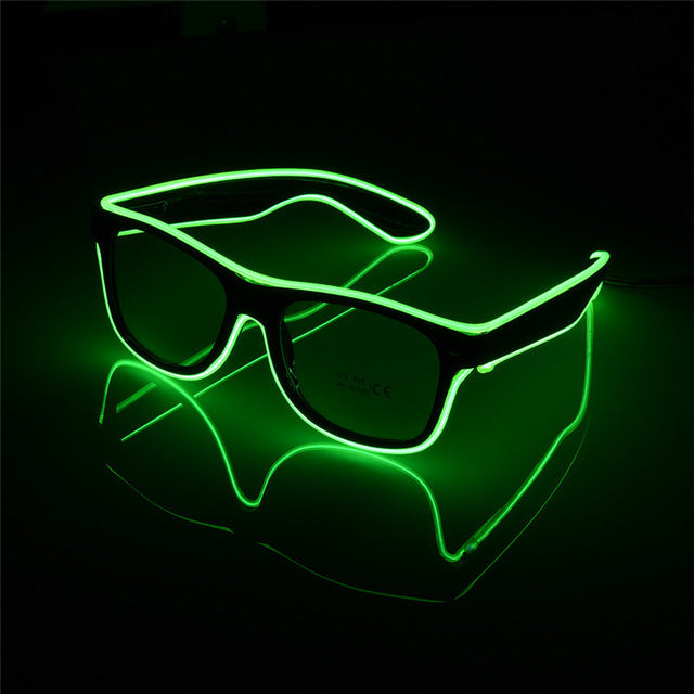 Stylish LED Glowing Party Glasses Accessory for Clubs, Raves, Events & More! - GadgetCart