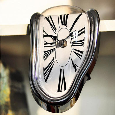Salvador Dali's Melting Clock Unique & Surreal Timepiece - GadgetCart