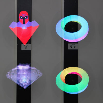 Holographic Imaging 3D Led Fan - GadgetCart