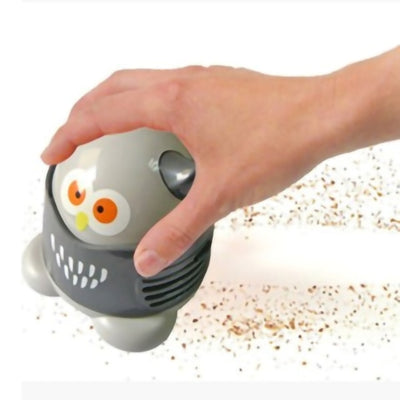 Handheld Cartoon Vacuum Office, Home & Car Gadget Cleans Spills Easily - GadgetCart