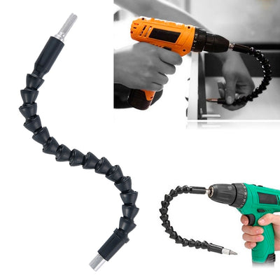 Snake Bit Flexible Electric Drill & Screwdriver Extension to Reach Tight Spots. - GadgetCart