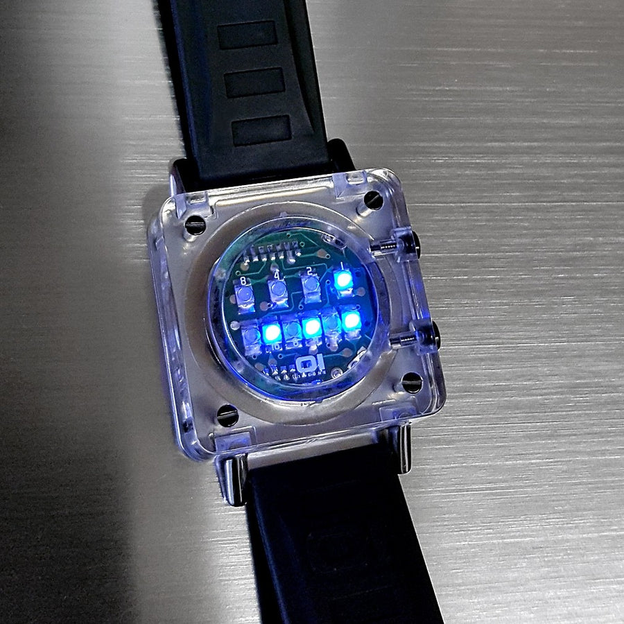 RAZOR BLOCK NOS Premium LED Retro Collectors Watch - ONE ONLY!