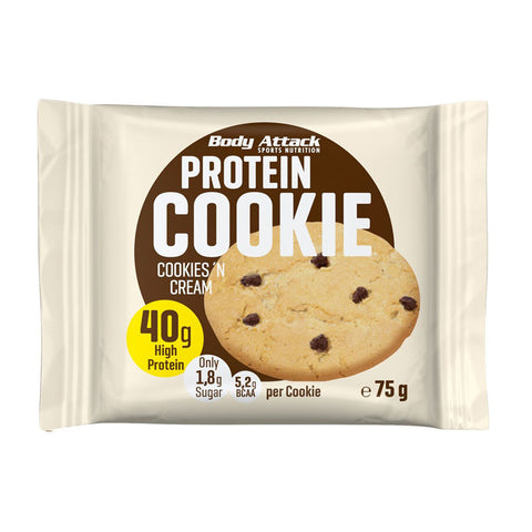 Body Attack Protein Cookie 75g (40g Protein) - gymstop