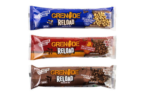 Grenade Reload Protein Oat Bar 1 x 70g - gymstop