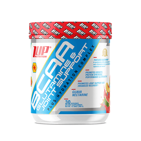 1UP Nutrition Mens BCAA - Glutamine & Joint Support Candy Watermelon 360g - gymstop
