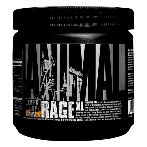 Animal Rage XL Pre Workout - gymstop