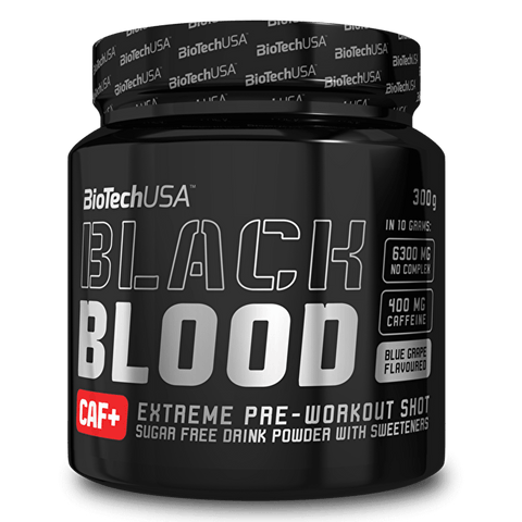 BIOTECH USA BLACK BLOOD CAF+ - gymstop