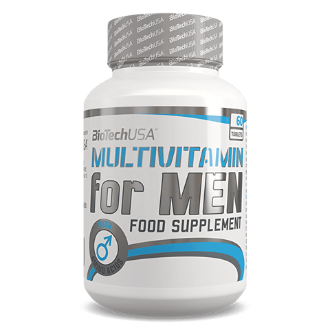BioTech USA Multivitamin for Men 60 Tablets - gymstop