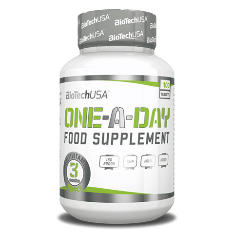 BioTech USA One-a-Day 100 Tablets - gymstop