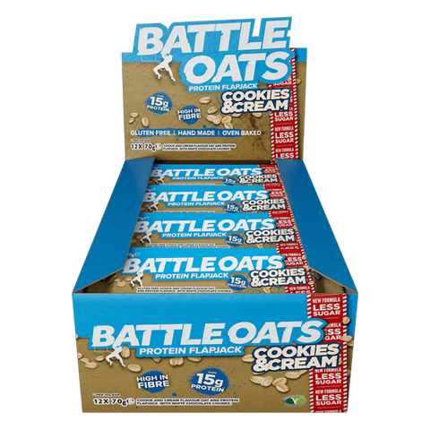 Battle Oats Protein Flapjack - gymstop