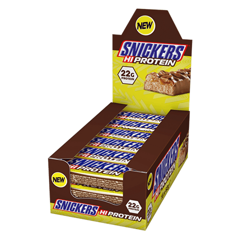 Snickers Hi-Protein Bars (High Protein) - gymstop