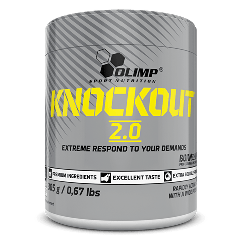 Olimp Knockout 2.0 Pre Workout 305g - gymstop