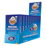Professor Protein Dark Chocolate Protein Bar - gymstop