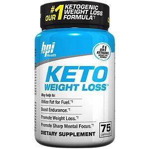BPI Sports Keto Weightloss 75 caps - gymstop