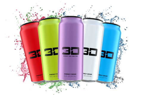 3D Energy Drink - gymstop