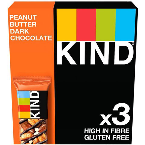 KIND Peanut Butter & Dark Chocolate 3 x 40g - Out of Date