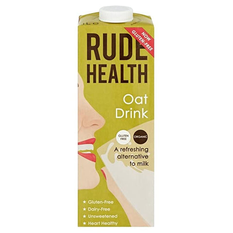 Rude Health Natural Organic Oat Drink 1 Litre - gymstop