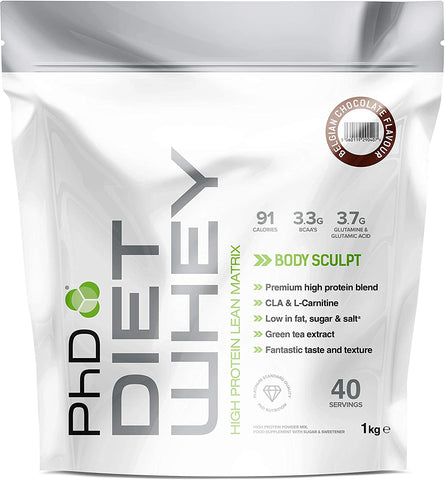 PhD Nutrition Diet Whey 1kg - Out of Date