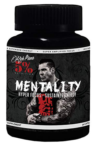 5% Nutrition Mentality 90 Caps - gymstop