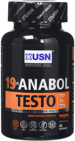 USN 19-Anabol Testo **OLD PACKAGING**