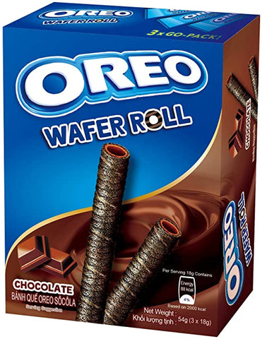 Oreo Chocolate Wafer Rolls