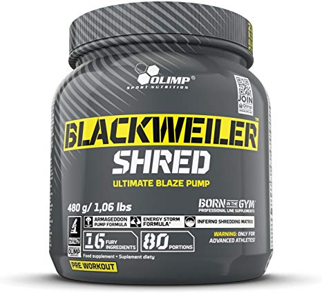 Olimp Blackweiler Shred 480g - gymstop
