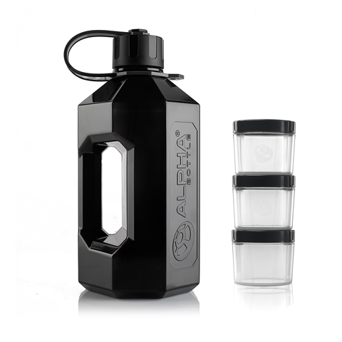 Alpha Designs XXL 2.4L Jug Mighty Bundle - gymstop