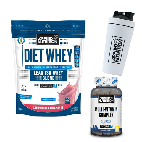 Applied Nutrition Diet Whey 1kg + FREE SHAKER & MULTIVITAMIN - gymstop