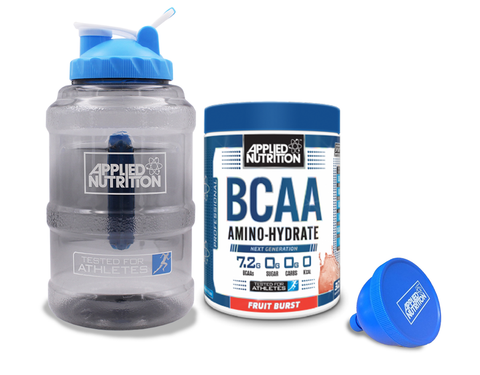 Applied Nutrition BCAA Amino Hydrate 1.4kg  + Free 2.2L Jug & Funnel - gymstop