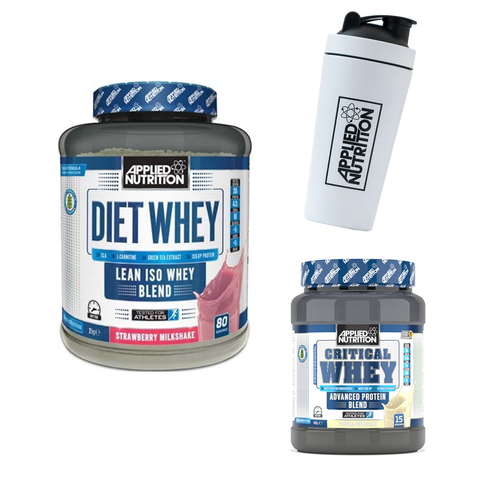 Applied Nutrition Diet Whey 2kg + FREE 450g Critical Whey & Shaker - gymstop