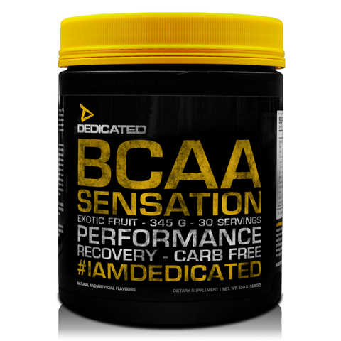 Dedicated Nutrition BCAA Sensation 345g - gymstop