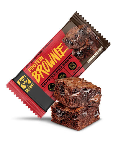 Mutant Protein Brownie 12 x 58g - gymstop