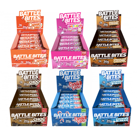 Battle Snacks Battle Bites - 2 for £35 - gymstop