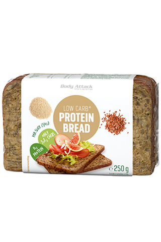 Body Attack Low Carb Protein Bread 250g - gymstop