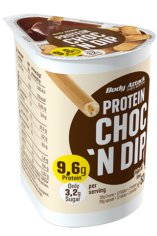 Body Attack Protein Choc 'n' Dip 52g - gymstop