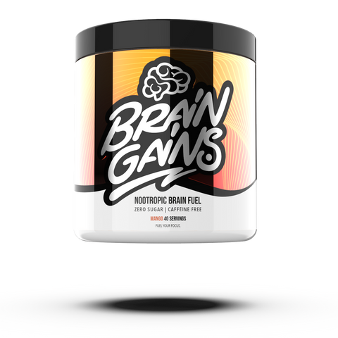 Brain Gains Nootropic Brain Fuel 260g - gymstop