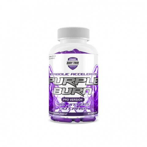 Dynamic Research Purple Burn 60 Capsules - gymstop