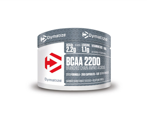 Dymatize BCAA 2200 Capsules - gymstop