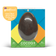 Cocoa Plus Large 150g Milk Protein Chocolate Egg