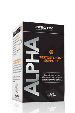 Efectiv Nutrition Alpha Testosterone Support - gymstop