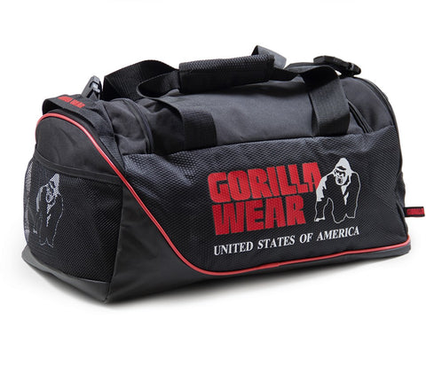 Gorilla Wear Jerome Gym Bag - Black/Red - gymstop