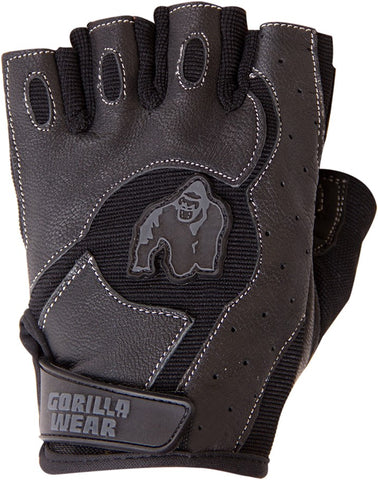 Gorilla Wear Mitchell Training Gloves - Black - gymstop